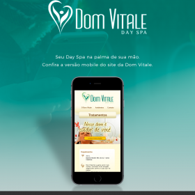 Dom Vitale disponibiliza site mobile