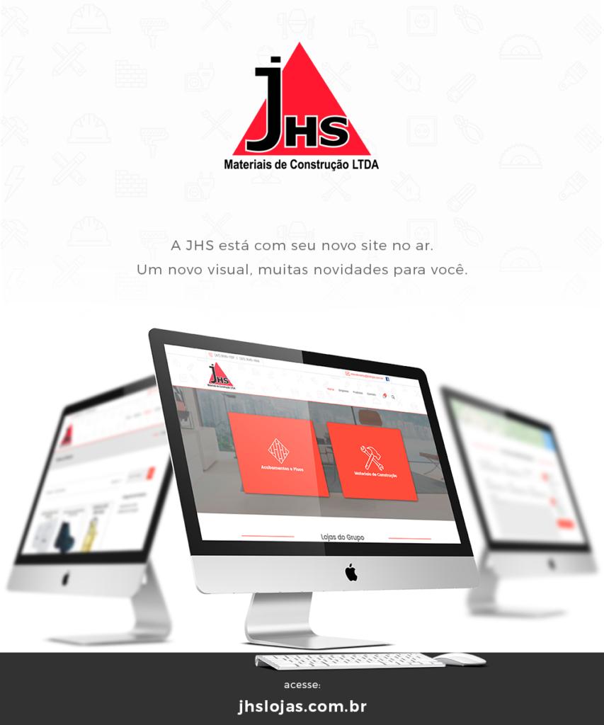 Site Lojas JHS