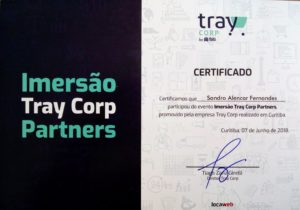 Certificado Sandro Alencar Fernandes Tray Corp