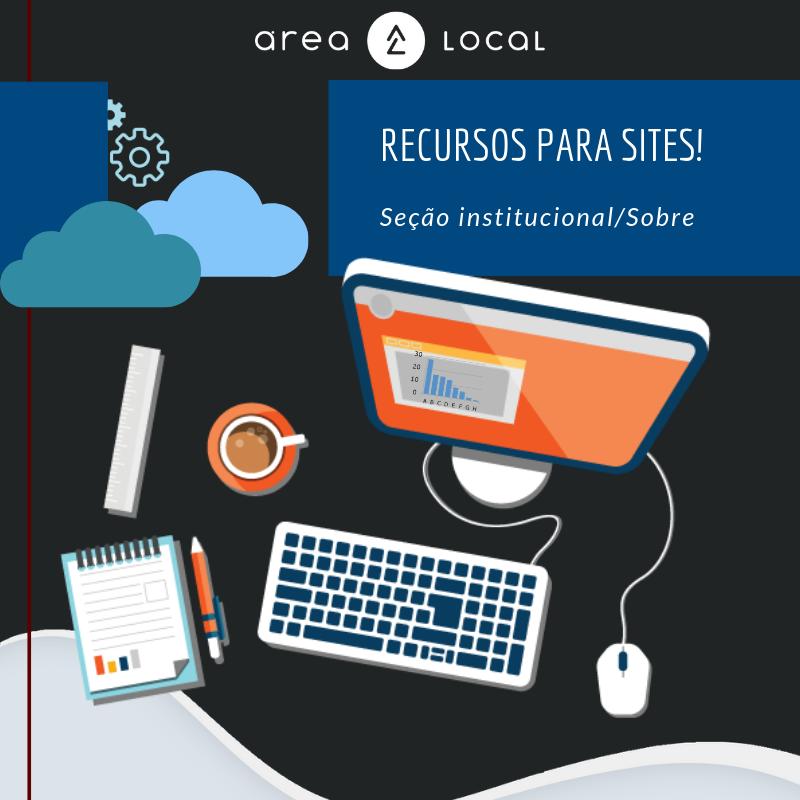 Recursos para Sites! Seção Institucional/Sobre