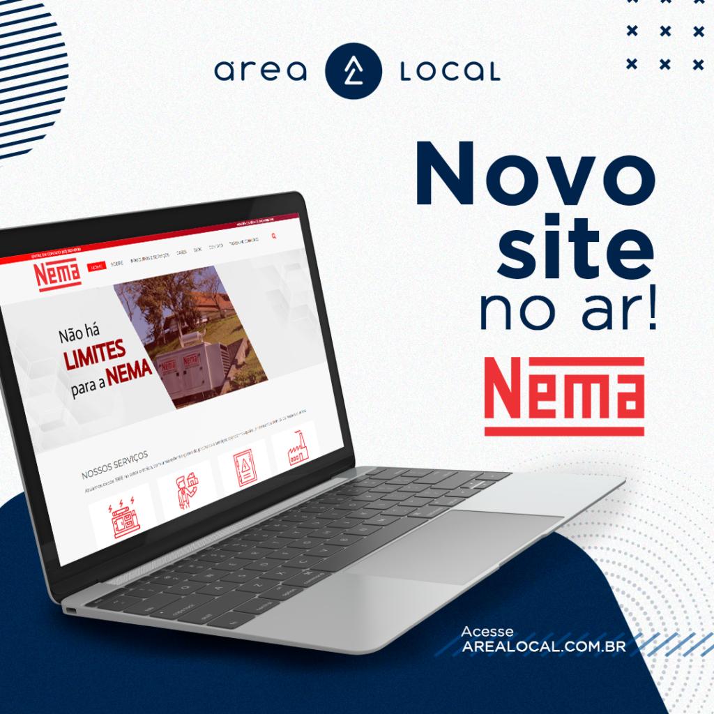 Novo site NEMA