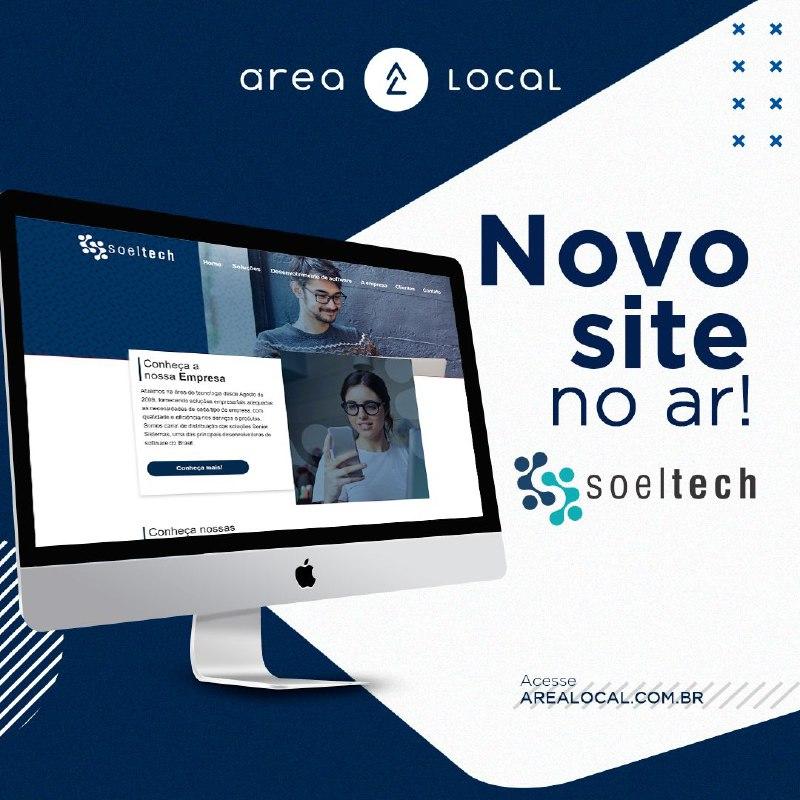 Soeltech lança novo site