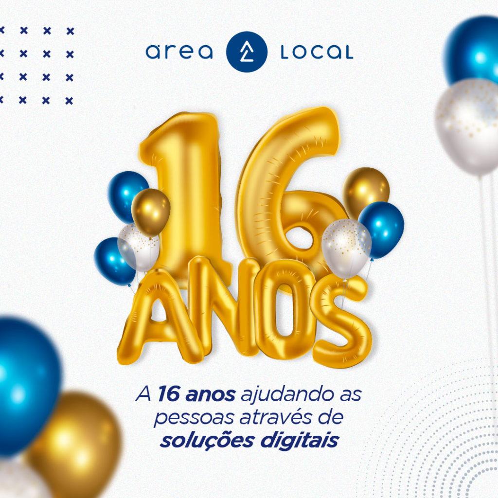16 anos arealocal